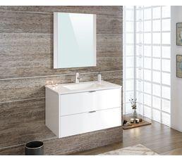 Meuble de salle de bain 80cm BALEARES Blanc