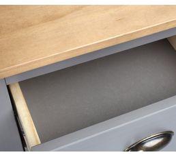 Chiffonnier 4 tiroirs JOYCE gris