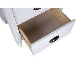 Chiffonnier 4 tiroirs JOYCE blanc