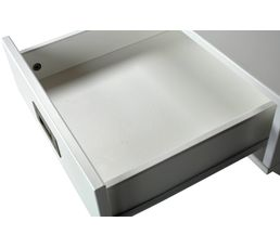 Chevet 1 tiroir Fred blanc