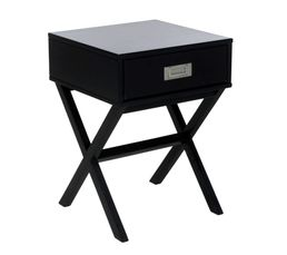 soldes table de chevet pas cher. Black Bedroom Furniture Sets. Home Design Ideas