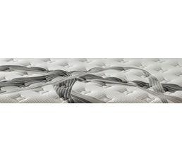 Matelas déco 140x190 cm mousse + mémoire de forme JADEN