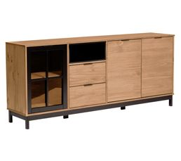 soldes buffet et vitrine pas cher. Black Bedroom Furniture Sets. Home Design Ideas