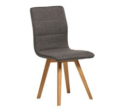 chaise scandinave karla gris fonc - Chaise A Manger