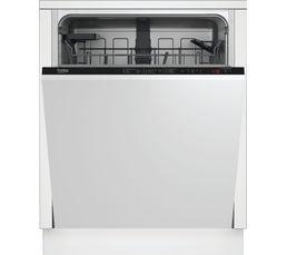 Programme Quick & Shine garantit un lavage et un séchage parfait en seulement 58 minutes. Nb de couverts: 14 Bandeau de commandes masqué : oui Programmes : 6 Départ différé : 3-6-9 h Panier réglable en hauteur : oui C.E. : 295 kWh/3080 L/an Efficacité éne