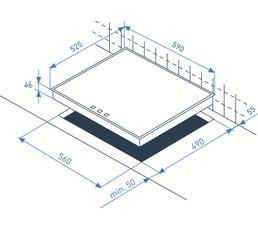 Table gaz BEKO HISG64220S