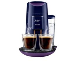 PHILIPS Cafetière à dosette HD7870/41 Velours cassis