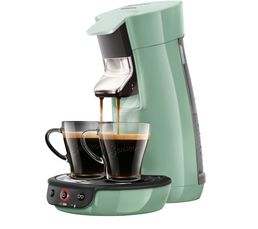 PHILIPS Cafetière à dosette Senseo HD7829/11 Viva vert d'eau