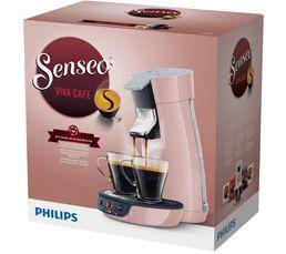 Cafetière à dosette Senseo PHILIPS HD7829/31 Viva rose poudré