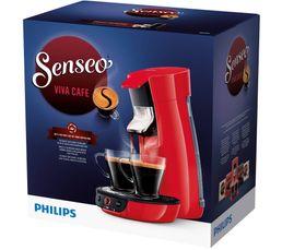 Cafetière à dosette Senseo PHILIPS HD7829/81 Viva rouge