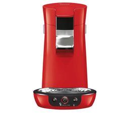 Machine à dosettes Senseo PHILIPS HD6563/81 Viva Café Rouge