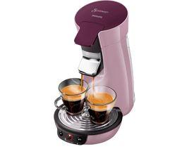 Prépare deux tasses de café à la fois Prépare une tasse de café parfaite et une couche de crème savoureuse, preuve d'un goût et d'une qualité d'exception Puissance en Watts : 1450 Capacité en litres : 0,9 Dispo pcs détachées donnée fournisseur : 2 ans Dos