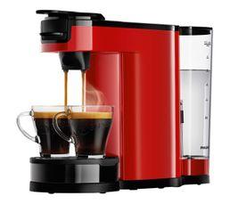 Cafetière à dosette Senseo PHILIPS HD6592/81 Switch rouge
