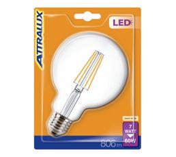 Ampoule LED 7W équiv 60W 806 lm E27 Blanc chaud
