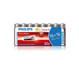 Piles Alcalines PHILIPS LR6P32FV