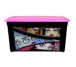Boîte 18L MONSTER HIGH Noir/Rose