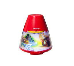 Veilleuse projecteur LED CARS Rouge