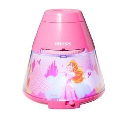 Veilleuse projecteur LED PRINCESSE Rose
