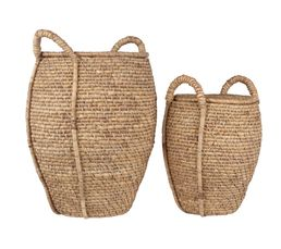 Set de 2 paniers AMPHORE Naturel