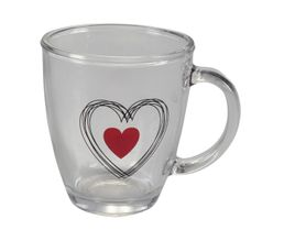 Mug SWEET HEART Transparent