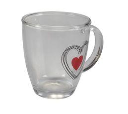 SWEET HEART Mug Transparent