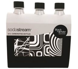 SODASTREAM  Pack3+1 bouteilles Black&White
