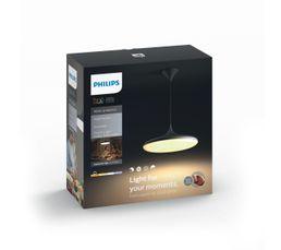 Suspension LED + télécommande CHER Noir