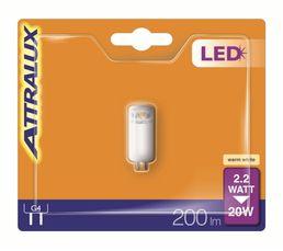 2,2W équiv 20W 200 lm G4 Ampoule LED Blanc
