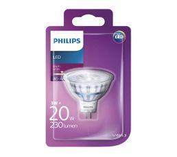 Ampoule LED 3W équiv 20W 230lm GU5,3 Blanc chaud