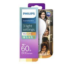Ampoule LED 8W équiv 60W 806lm E27 Blanc chaud
