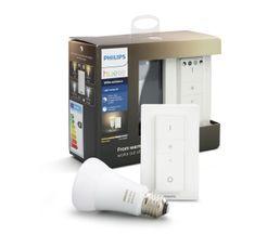 Ampoule LED + télécommande 9,5W équiv 60W 806 lm E27 Blanc chaud
