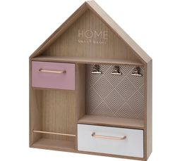 Etagère murale H. 45 cm HOME Naturel