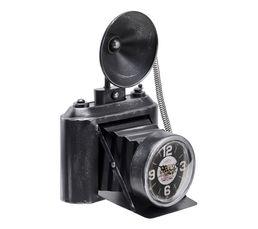 Horloge H.32 cm APPAREIL PHOTO Noir
