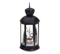 Lanterne LED scéne de Noel  Assorti