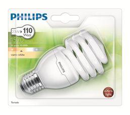 CFL 23W équiv 110W E27 Ampoule Blanc chaud