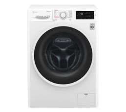 Lave-linge hublot séchant LG F854C40WR Motion Direct Drive