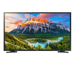 Type : LED 500 PQI TYPO Classe energetique A Taille : 100 cm ( 40) Resolution : 1920x1080 Puissance son : 2x10 W Prise(s) HDMI : 2 Prise(s) USB : 1 Consommation : Classe A/Marche 56W/VeilleSmart TV profitez de vos contenus préférés grâce aux nombreuses ap