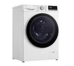 Lave-linge hublot séchant LG F854N41WR 8 kg Blanc