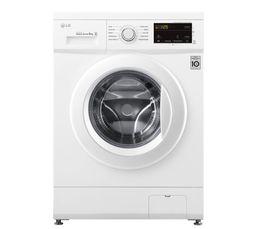 Lave-linge hublot LG F84M20WH 8kg 1400tr Blanc