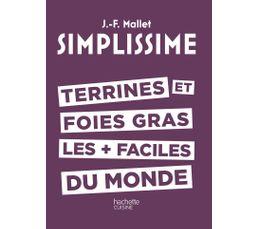 Livre de cuisine HACHETTE Simplissisme Terrines et foies