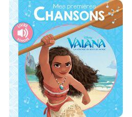 Livre Disney HACHETTE Mes 1ères chansons Vaiana