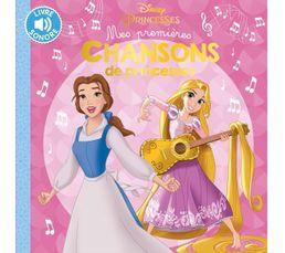Livre Disney HACHETTE Mes 1ères chansons Princesses