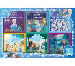 Hachette Coffret livres La Reine des Neiges, 12 livres