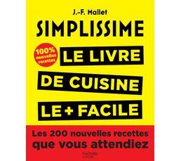 Livre de cuisine HACHETTE Simplissisme Tome 2