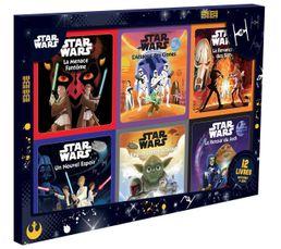 Coffret 12 Livres HACHETTE 12 Livres STAR WARS