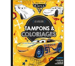 Hachette Coffret Disney Tampons et coloriages