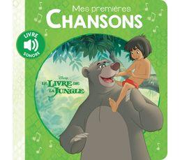 Livre Disney HACHETTE Ms 1ères chansons Livre Jungle