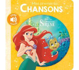Livre Disney HACHETTE 1ères chansons Petite Sirène