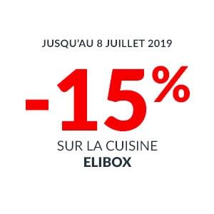 Offre -15% sur la cuisine elibox