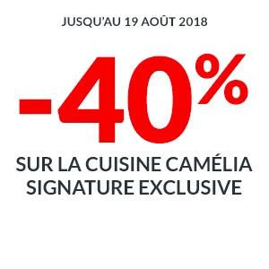 -40% sur la Cuisine Camelia